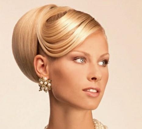 прически на волосы средней длины с челкой в домашних условиях фото.